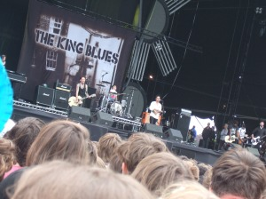 The King Blues at Reading 2010