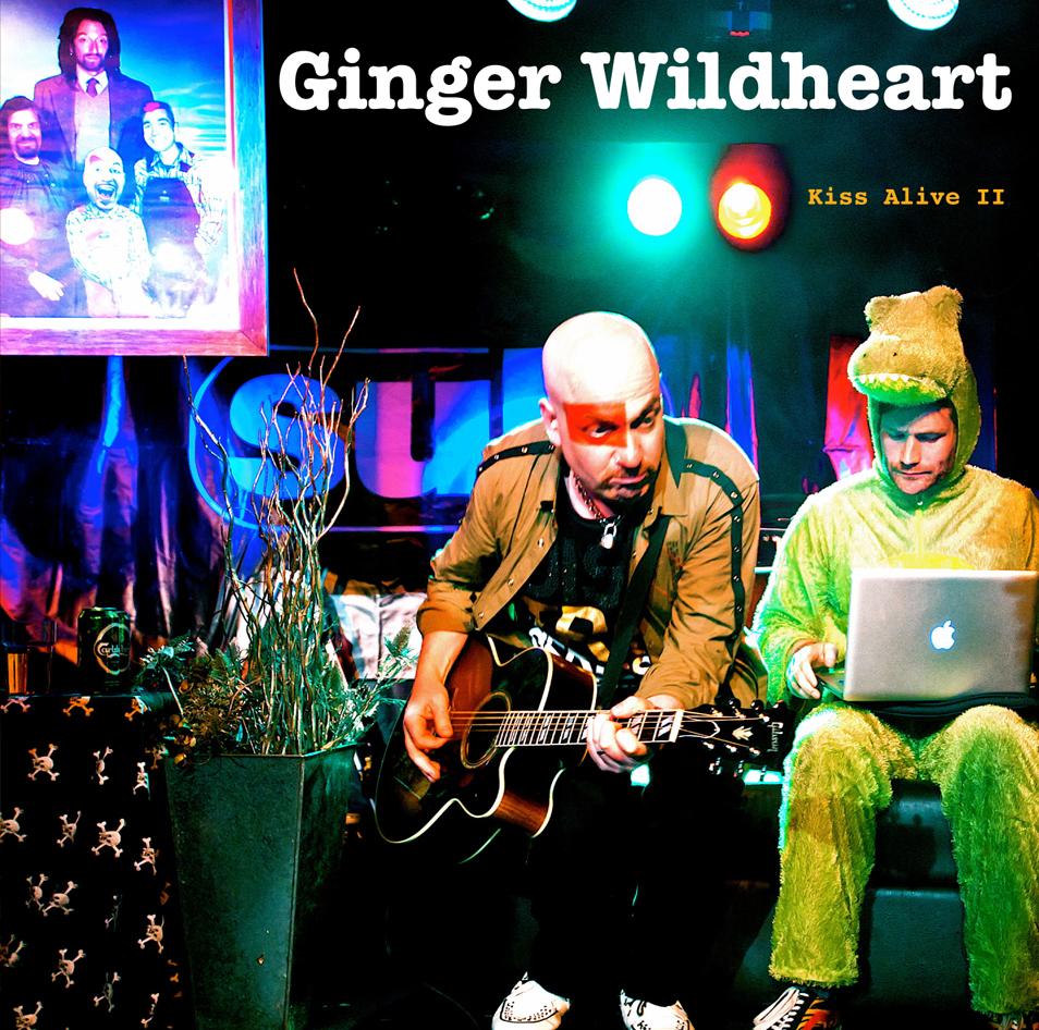 ginger wildheart kiss alive ii live acoustic album 2011 tommy girard. Black Bedroom Furniture Sets. Home Design Ideas
