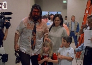 Mick Foley and family