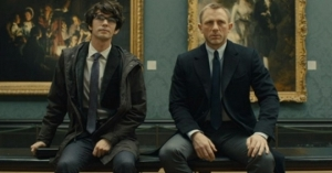 Q and Bond - Skyfall
