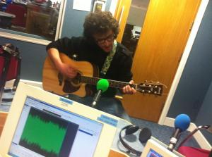 Matt Ward on BBC Introducing Guernsey