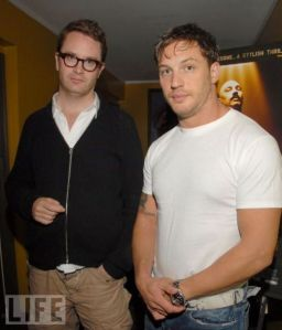 Nicolas Winding Refn and Tom Hardy
