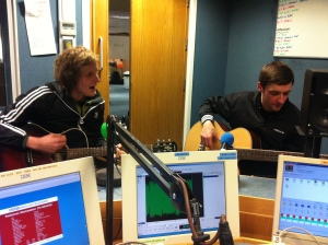 Last of the Light Brigade on BBC Introducing Guernsey
