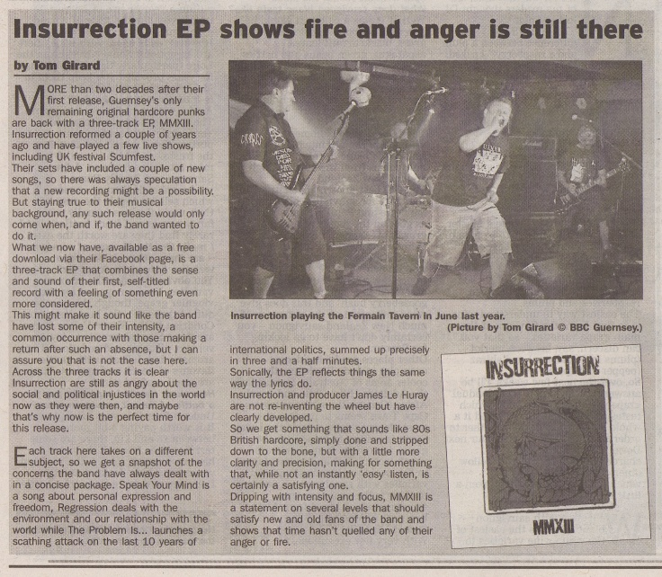 Insurrection - MMXIII review scan - 6:4:13