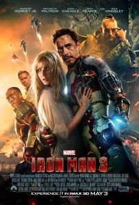 Iron Man Three poster