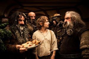 Bilbo and Dwarves