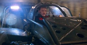 Fast & Furious 6 - Flip car and Luke Evans