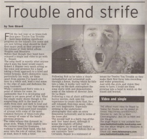 Twelve Ton Trouble - Repair review - scan - 11.5.13