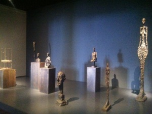 Alberto Giacometti sculptures at LACMA