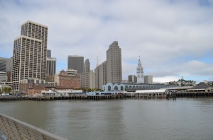 The Ferry Building from Pier 14
