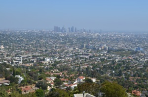 Downtown LA from the observatory