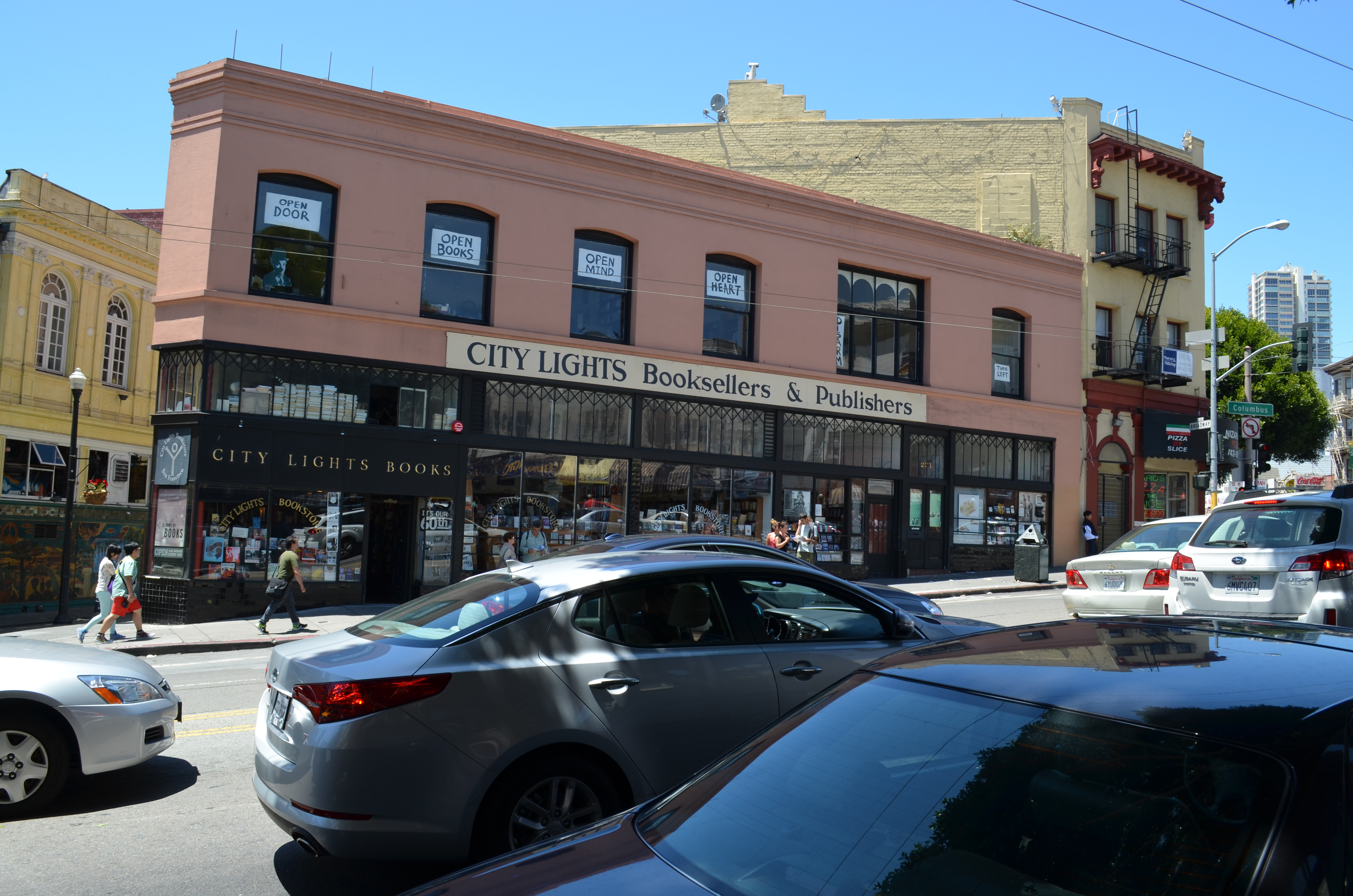 City Lights Bookstore Reverse Search