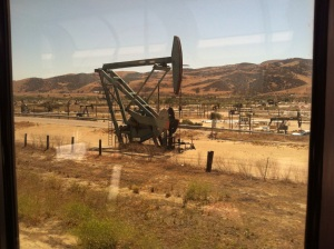 Central Californian oil field