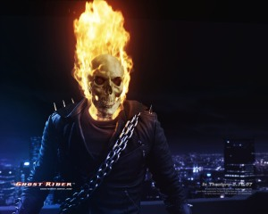 'Nic Cage' as Ghost Rider