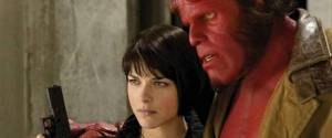 Liz Sherman (Selma Blair) and Hellboy
