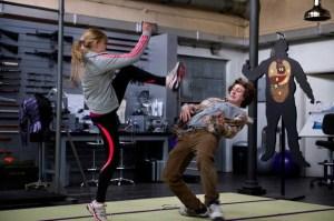 kick-ass 2: chloe grace moretz and aaron taylor-johnson