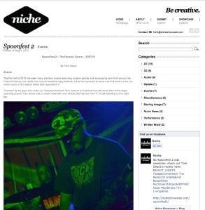 SpoonFest 2 - Niche Showcase - screengrab