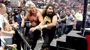 Triple H and Cactus Jack