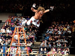 Shawn Michaels at Wrestlemania X