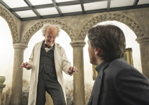 Jim Broadbent and James McAvoy