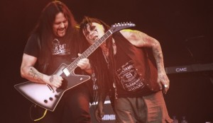 Mike Scaccia and Al Jourgensen