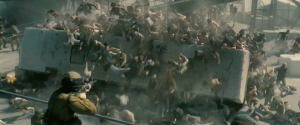 World War Z - zombie swarm