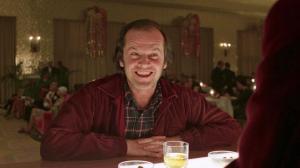 Nicholson as Jack Torrance
