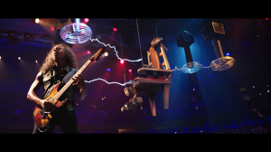 Kirk Hammett and the Tesla Coils