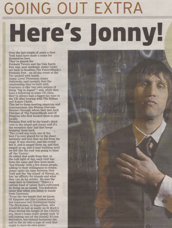 Jonny Lives interview scan 1 - 10:04:14