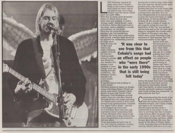 Nirvazon Nirvana Tribute night scan - 12:04:14