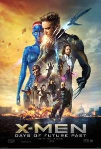 X-Men Days of Future Past-Movie poster