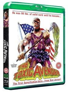 The Toxic Avenger blu-ray