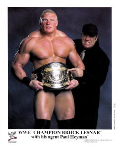 Managing a young Brock Lesnar