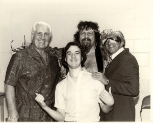 Paul Heyman, Freddie Blassie, Captain Lou and the Grand Wizard