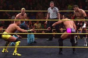 Tyson Kidd, Taylor Breeze, Adrian Neville and Sami Zayn