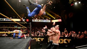 Kalisto flies at The Ascension