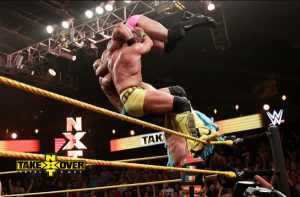 Top rope superplex powerbomb