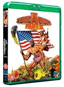 The Toxic Avenger Part II Blu Ray