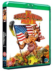 The Toxic Avenger Part II Blu Ray