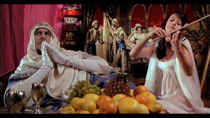 Dr Phibes Rises Again - Vincent Price and Valli Kemp