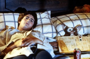 Zach Galligan and Gizmo - Gremlins