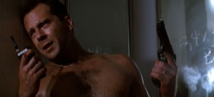 Bruce Willis as John McClane - Die Hard