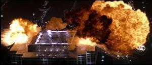 Nakatomi Plaza explosion - Die Hard