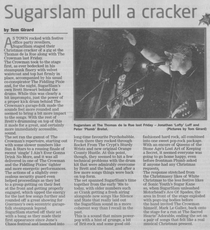 SugarSlam and The Crowman review scan - 20:12:14