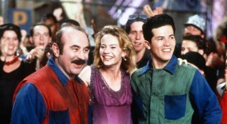 super mario bros movie - Bob Hoskins, Samantha Mathis and John Leguizamo