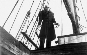 Max Schreck as Count Orlok in Nosferatu