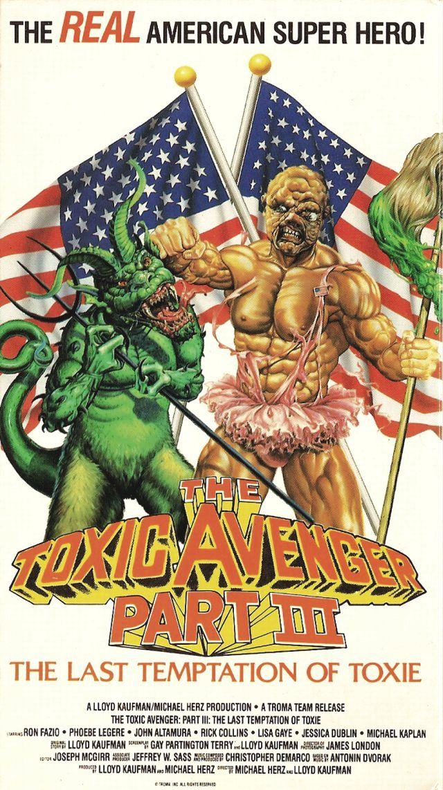 The Toxic Avenger 3 poster