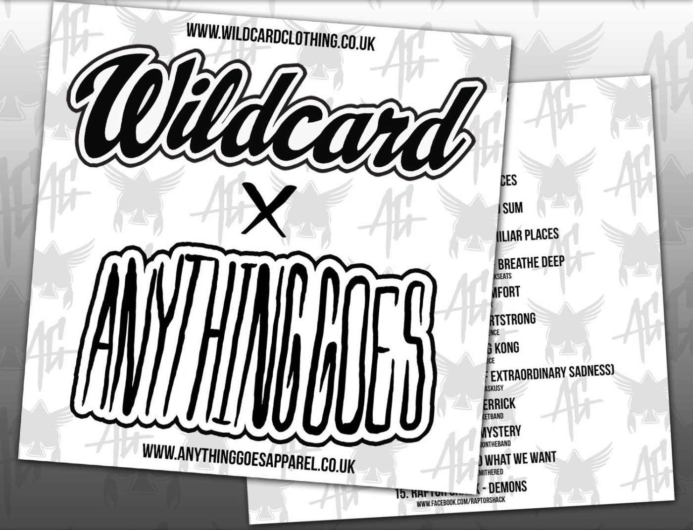 Wildcard X Anything Goes - volume 4