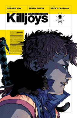 The True Lives of the Fabulous Killjoys cover