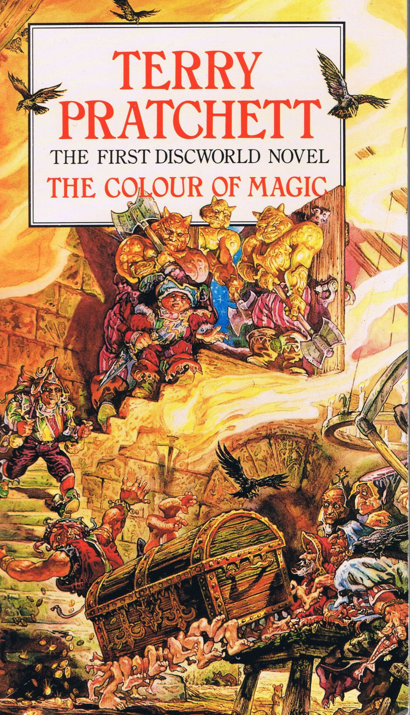 The Colour of Magic book cover